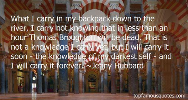 Jenny Hubbard Quotes