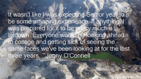 Jenny O'Connell Quotes