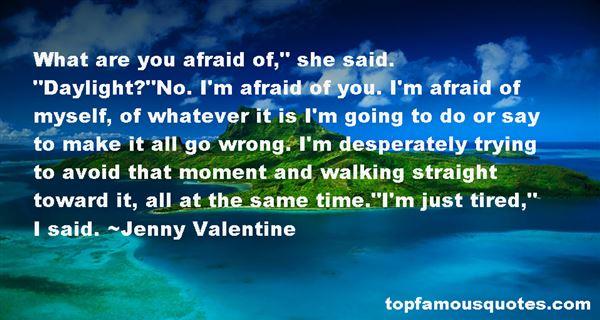 Jenny Valentine Quotes