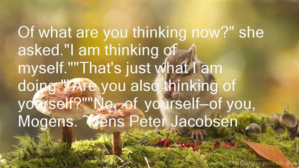 Jens Peter Jacobsen Quotes