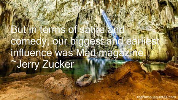 Jerry Zucker Quotes