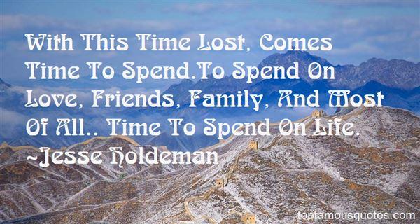 Jesse Holdeman Quotes