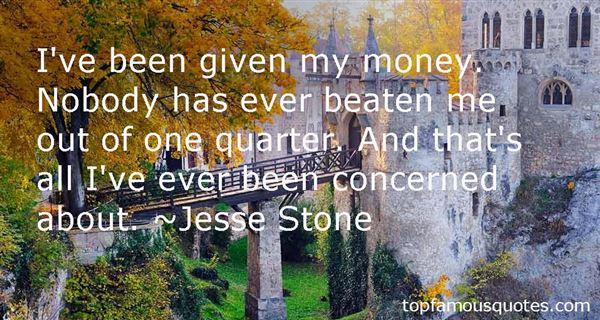 Jesse Stone Quotes