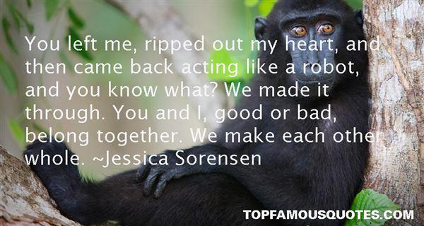 Jessica Sorensen Quotes