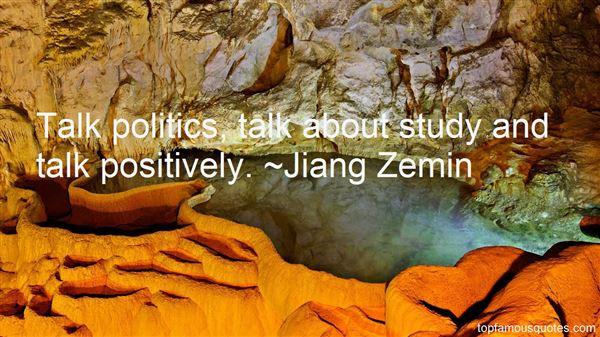 Jiang Zemin Quotes