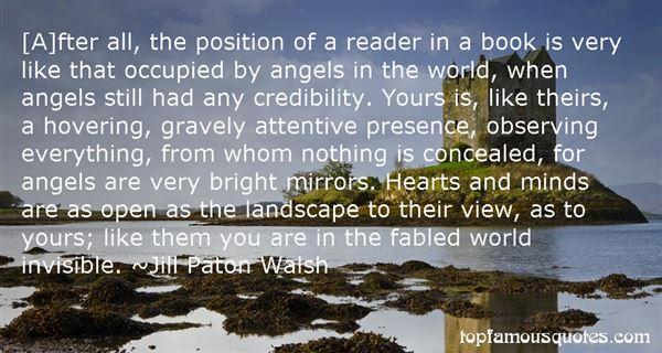 Jill Paton Walsh Quotes