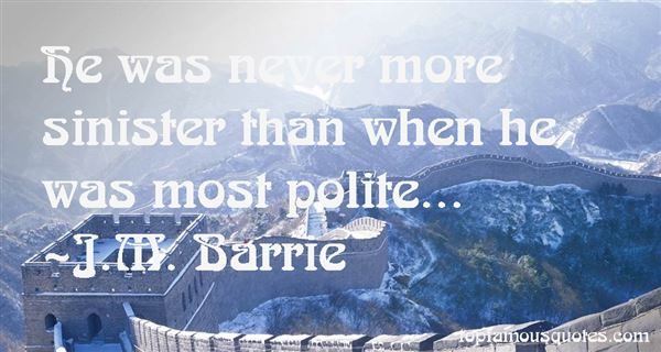 J.M. Barrie Quotes