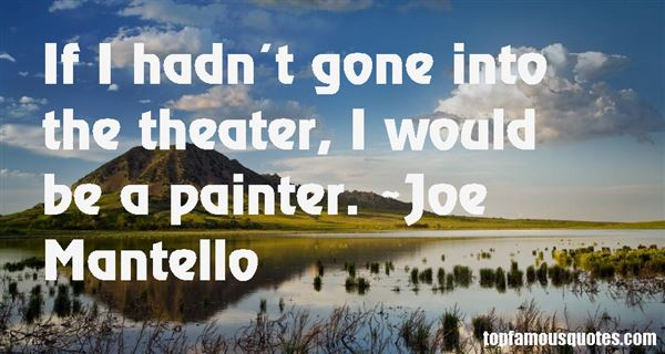 Joe Mantello Quotes