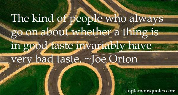 Joe Orton Quotes