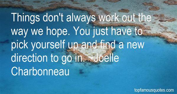 Joelle Charbonneau Quotes