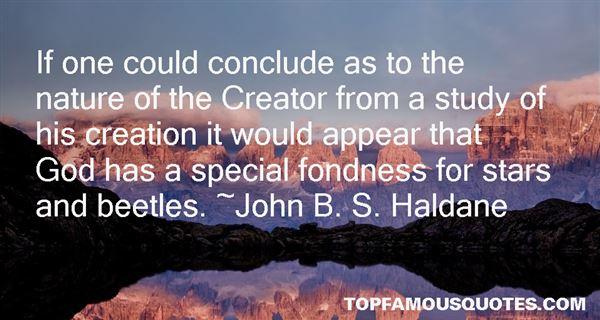 John B. S. Haldane Quotes