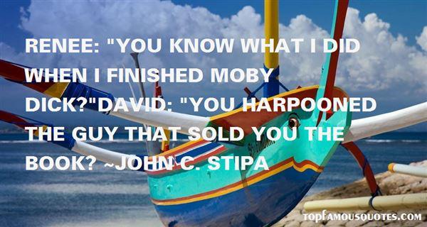 John C. Stipa Quotes