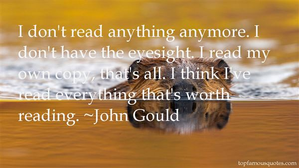 John Gould Quotes