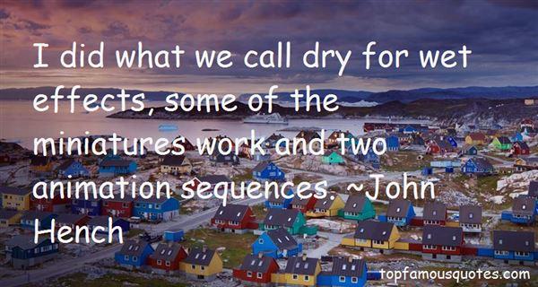 John Hench Quotes