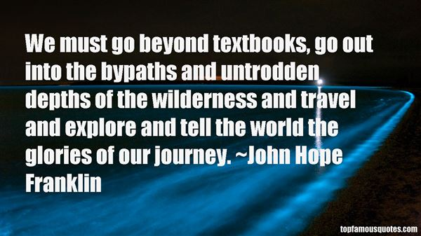 John Hope Franklin Quotes
