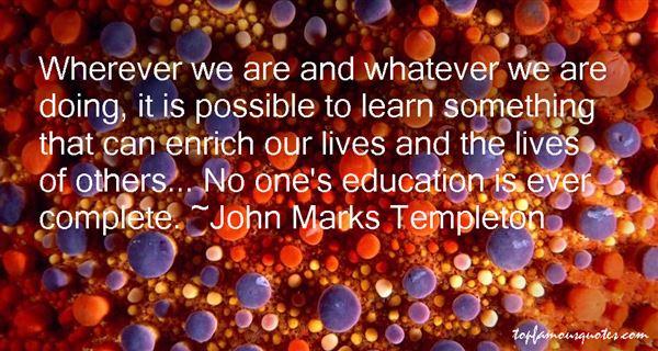 John Marks Templeton Quotes