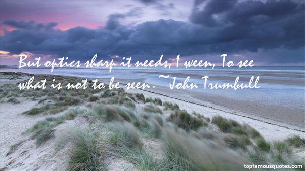 John Trumbull Quotes