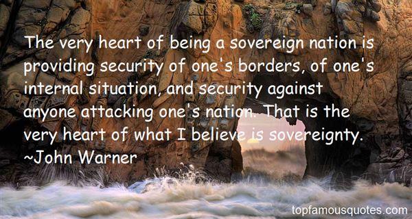 John Warner Quotes