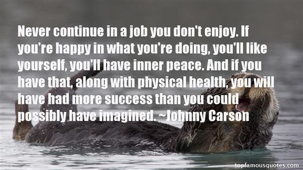 Johnny Carson Quotes