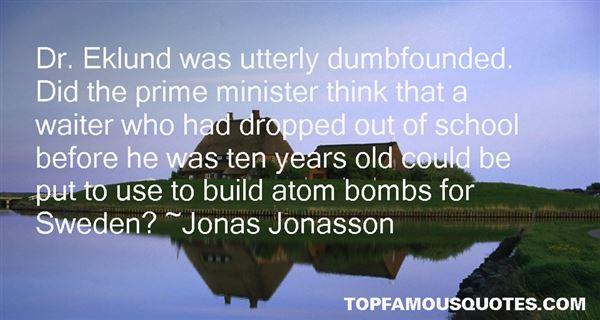 Jonas Jonasson Quotes