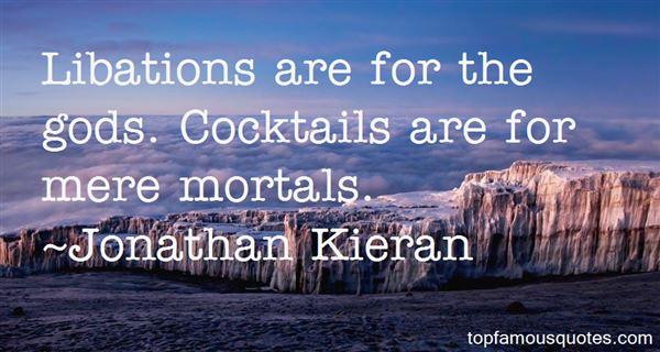 Jonathan Kieran Quotes
