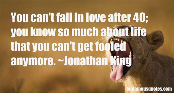 Jonathan King Quotes