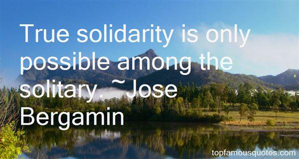 Jose Bergamin Quotes