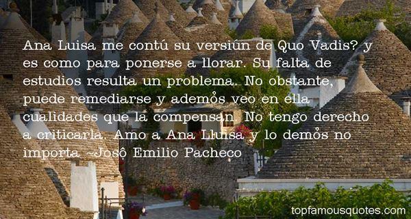 José Emilio Pacheco Quotes