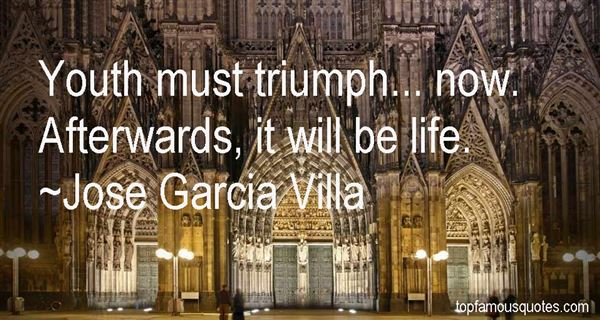 Jose Garcia Villa Quotes