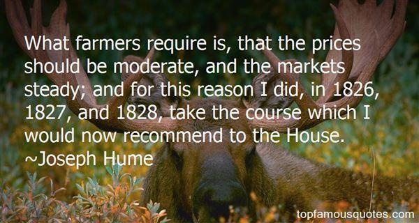 Joseph Hume Quotes