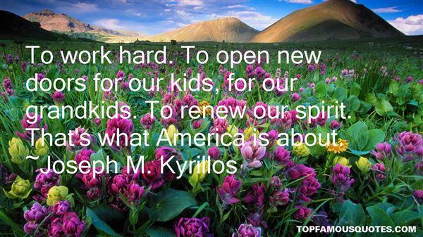 Joseph M. Kyrillos Quotes