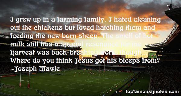 Joseph Mawle Quotes