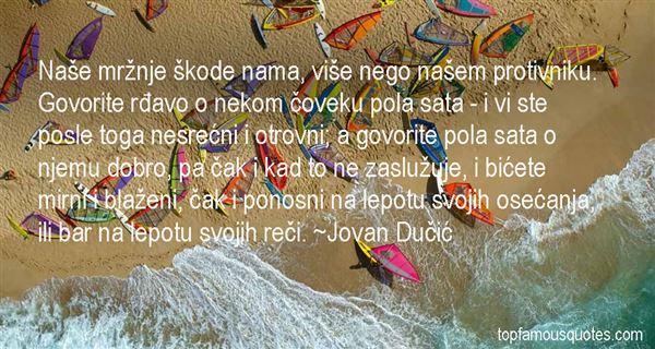 Jovan Dučić Quotes