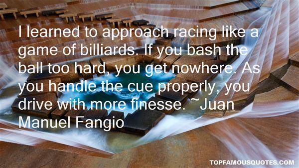 Juan Manuel Fangio Quotes