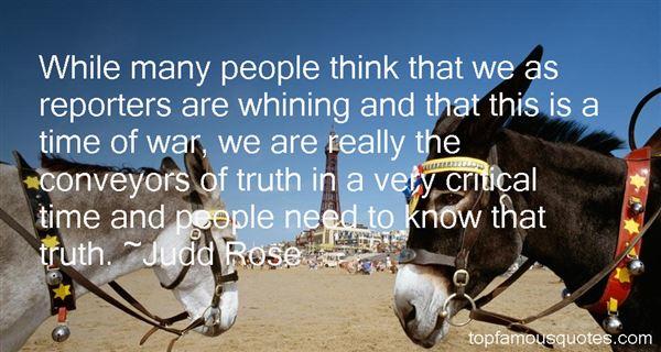 Judd Rose Quotes