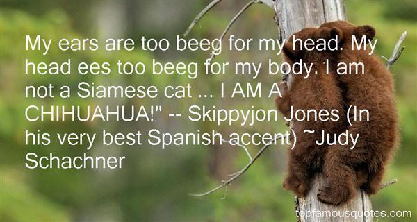 Judy Schachner Quotes