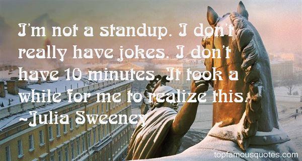 Julia Sweeney Quotes