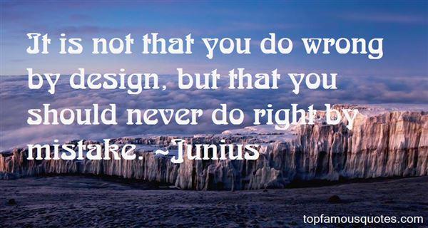 Junius Quotes