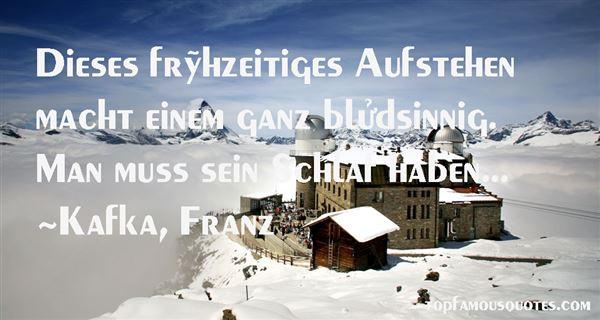 Kafka, Franz Quotes