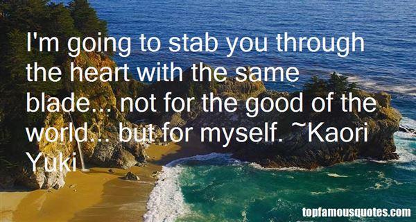 Kaori Yuki Quotes