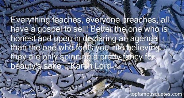 Karen Lord Quotes