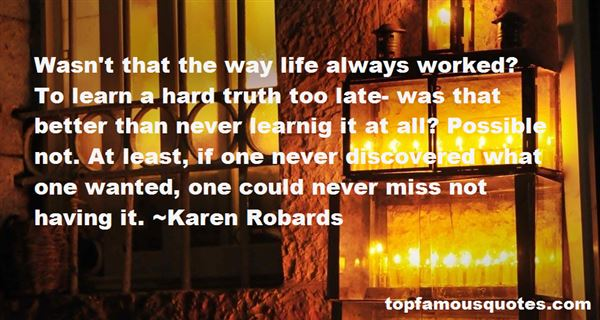 Karen Robards Quotes