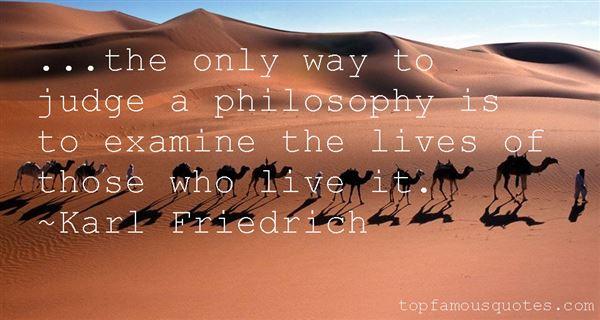 Karl Friedrich Quotes