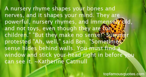 Katherine Catmull Quotes