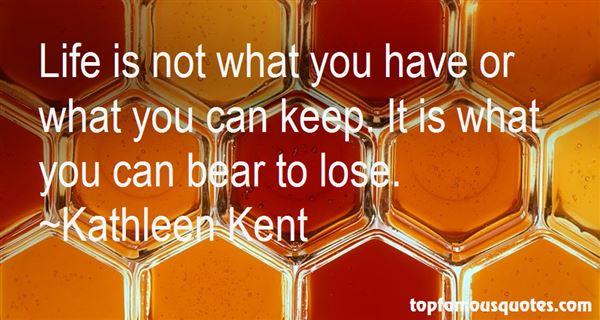 Kathleen Kent Quotes