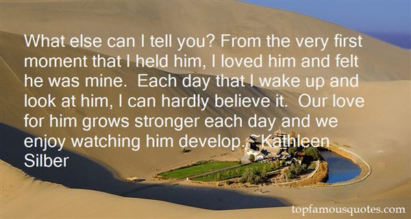 Kathleen Silber Quotes