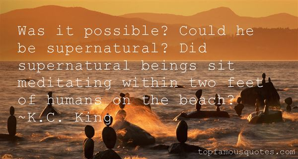 K.C. King Quotes