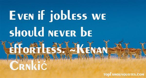 Kenan Crnkić Quotes
