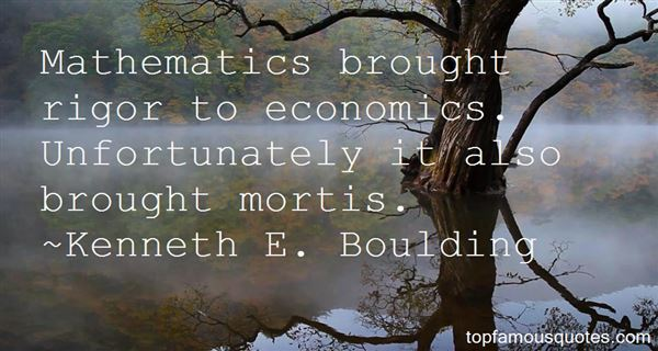 Kenneth E. Boulding Quotes