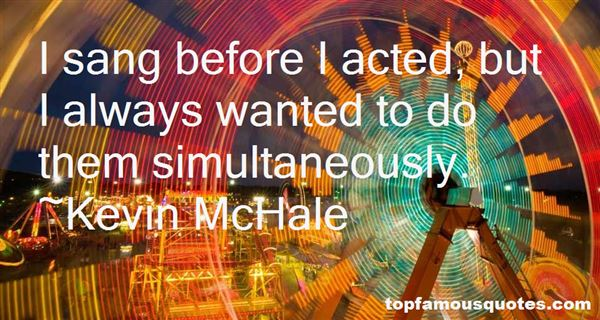 Kevin McHale Quotes